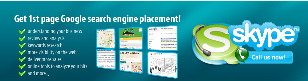 Sign Up to our Google Placement Services
